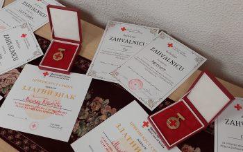 Dodela priznanja Crvenog krsta