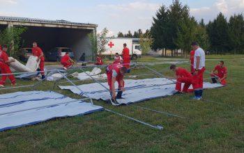 Trening za članove jedinice za delovanje u nesrećama