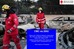 Aktiviranje humanitarnog SMS broja cir 2