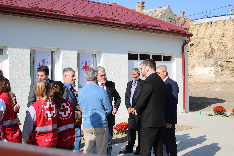 Poseta visoke delegacije Crvenog krsta Gornje Austrije