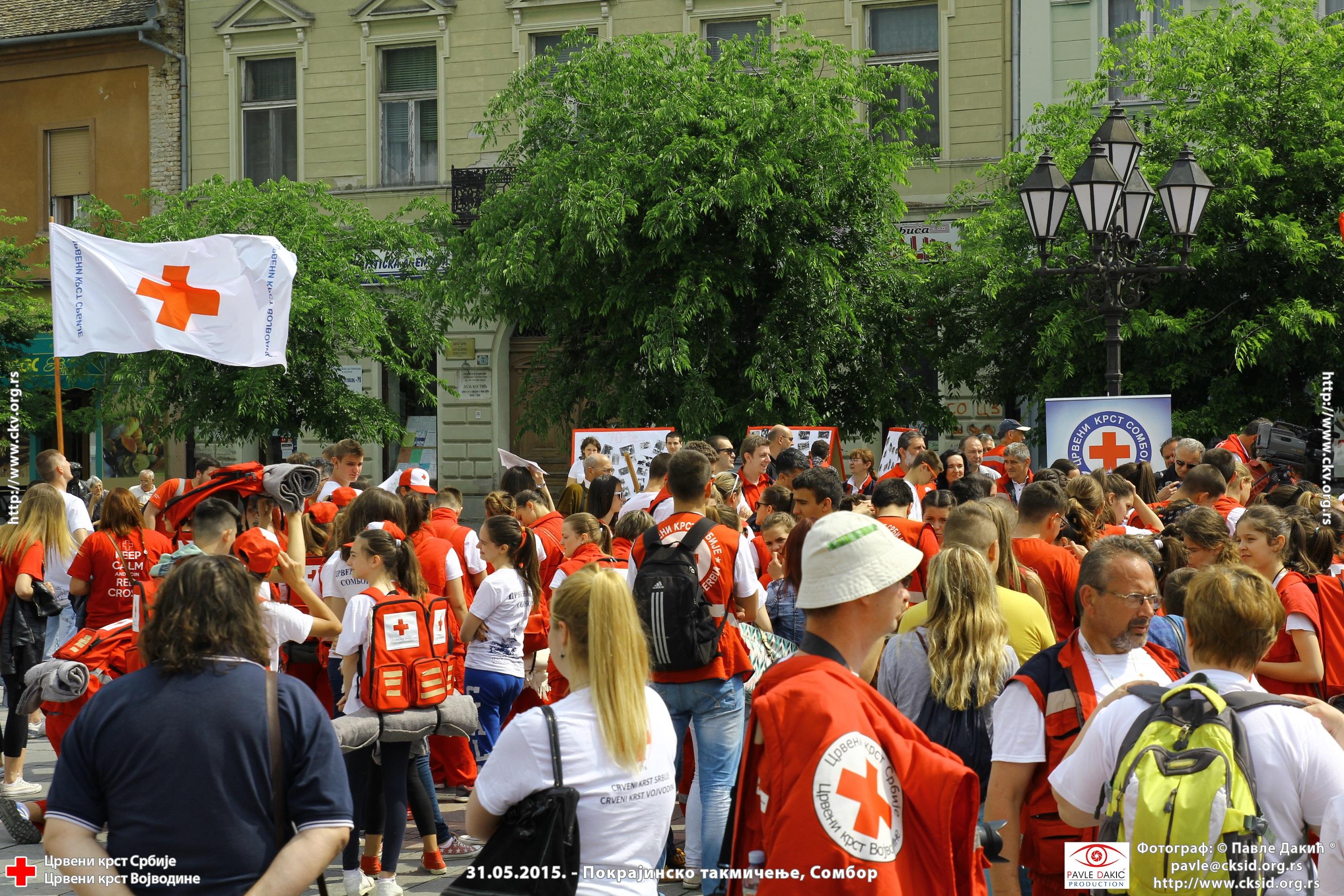 31.05.2015 Pokrajinsko takmičenje u pružanju Prve Pomoći, Sombor – Galerija